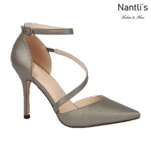 BL-Josie-7X Pewter Zapatos de Mujer Mayoreo Wholesale Women Heels Shoes Nantlis