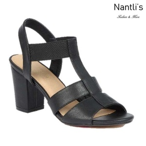 BL-Julia-1 Black Zapatos de Mujer Mayoreo Wholesale Women Heels Shoes Nantlis