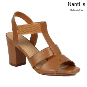 BL-Julia-1 Tan Zapatos de Mujer Mayoreo Wholesale Women Heels Shoes Nantlis
