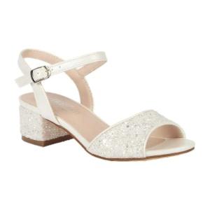 BL-K-Brenda-8 White Zapatos de niña Mayoreo Wholesale girls heels Kids dress Shoes Nantlis