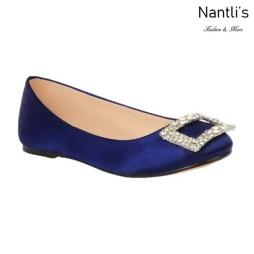 BL-K-Gigi-12 Navy Zapatos de niña Mayoreo Wholesale girls flats Kids dress Shoes Nantlis
