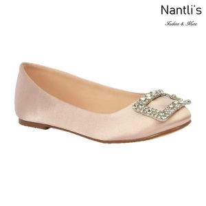 BL-K-Gigi-12 Nude Zapatos de niña Mayoreo Wholesale girls flats Kids dress Shoes Nantlis