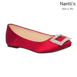 BL-K-Gigi-12 Wine Zapatos de niña Mayoreo Wholesale girls flats Kids dress Shoes Nantlis