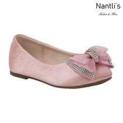BL-K-Harper-27 Mauve Zapatos de niña Mayoreo Wholesale girls flats Kids dress Shoes Nantlis