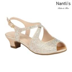 BL-K-Suri-33 Nude Zapatos de niña Mayoreo Wholesale Kids heels dress Shoes Nantlis