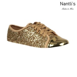 BL-K-Tennis-6 Gold Zapatos de nina Mayoreo Wholesale Girls sneakers kids Shoes Nantlis