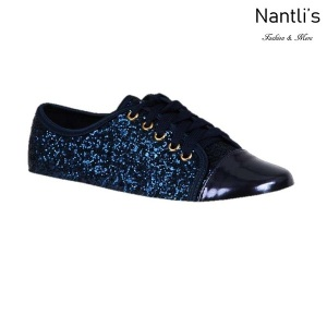BL-K-Tennis-6 Navy Zapatos de nina Mayoreo Wholesale Girls sneakers kids Shoes Nantlis