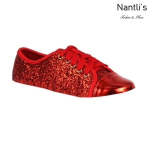 BL-K-Tennis-6 Red Zapatos de nina Mayoreo Wholesale Girls sneakers kids Shoes Nantlis
