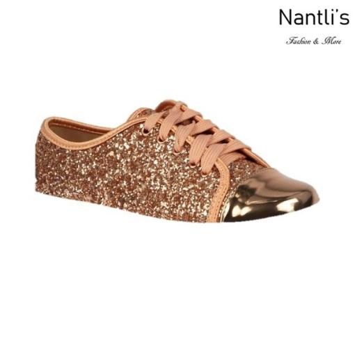 BL-K-Tennis-6 Rose Gold Zapatos de nina Mayoreo Wholesale Girls sneakers kids Shoes Nantlis