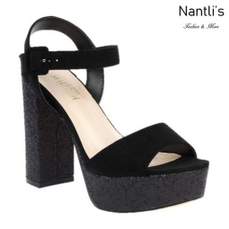 BL-Keith-4 Black Zapatos de Mujer Mayoreo Wholesale Women Heels Shoes Nantlis