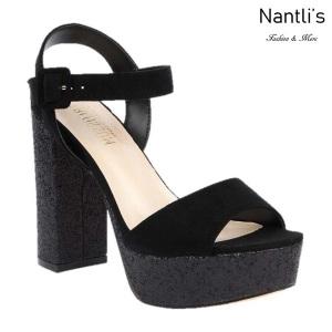 BL-Keith-4 Black Zapatos de Mujer Mayoreo Wholesale Women Heels Shoes Nantlis