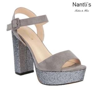 BL-Keith-4 Grey Zapatos de Mujer Mayoreo Wholesale Women Heels Shoes Nantlis