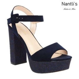 BL-Keith-4 Navy Zapatos de Mujer Mayoreo Wholesale Women Heels Shoes Nantlis