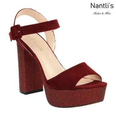 BL-Keith-4 Wine Zapatos de Mujer Mayoreo Wholesale Women Heels Shoes Nantlis
