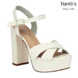 BL-Keith-7 White Zapatos de Mujer Mayoreo Wholesale Women Heels Shoes Nantlis