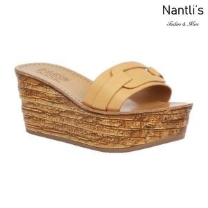 BL-Kloss-1 Nude Zapatos de Mujer Mayoreo Wholesale Women Shoes Wedges sandals Nantlis