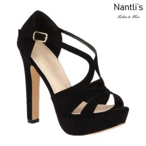 BL-Miya-286 Black Zapatos de Mujer Mayoreo Wholesale Women Heels Shoes Nantlis