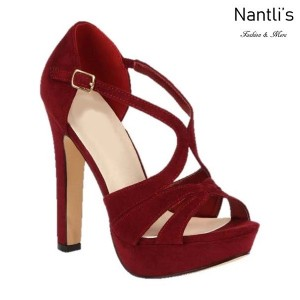 BL-Miya-286 Wine Zapatos de Mujer Mayoreo Wholesale Women Heels Shoes Nantlis