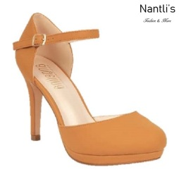 BL-Rosie-11 Tan Zapatos de Mujer Mayoreo Wholesale Women Heels Shoes Nantlis