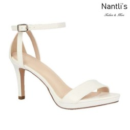 BL-Rosie-18 White Zapatos de Mujer Mayoreo Wholesale Women Heels Shoes Nantlis