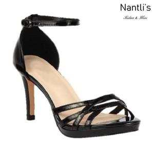 BL-Rosie-34 Black Zapatos de Mujer Mayoreo Wholesale Women Heels Shoes Nantlis