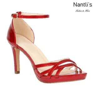 BL-Rosie-34 Red Zapatos de Mujer Mayoreo Wholesale Women Heels Shoes Nantlis