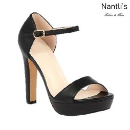 BL-Sally-8 Black Zapatos de Mujer Mayoreo Wholesale Women Heels Shoes Nantlis