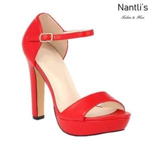 BL-Sally-8 Red Zapatos de Mujer Mayoreo Wholesale Women Heels Shoes Nantlis