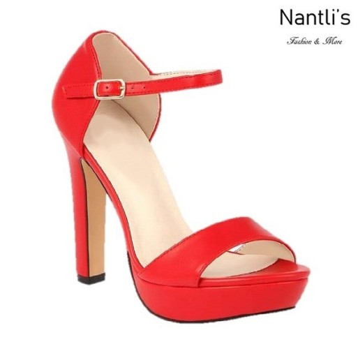 BL-Sally-8 Red Zapatos de Mujer Mayoreo Wholesale Women Heels Shoes Nantlis