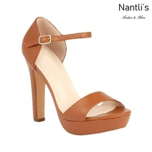 BL-Sally-8 Tan Zapatos de Mujer Mayoreo Wholesale Women Heels Shoes Nantlis