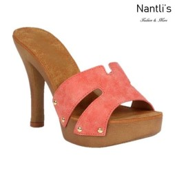 BL-Sandra-5 Coral Zapatos de Mujer Mayoreo Wholesale Women Heels Shoes Nantlis