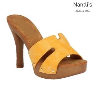 BL-Sandra-5 Mustard Zapatos de Mujer Mayoreo Wholesale Women Heels Shoes Nantlis