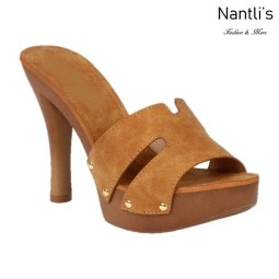 BL-Sandra-5 Tan Zapatos de Mujer Mayoreo Wholesale Women Heels Shoes Nantlis
