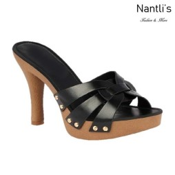 BL-Sandra-6 Black Zapatos de Mujer Mayoreo Wholesale Women Heels Shoes Nantlis