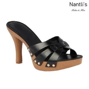 BL-Sandra-6 Black Zapatos de Mujer Mayoreo Wholesale Women Heels Shoes Nantlis