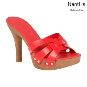 BL-Sandra-6 Red Zapatos de Mujer Mayoreo Wholesale Women Heels Shoes Nantlis