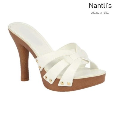 BL-Sandra-6 White Zapatos de Mujer Mayoreo Wholesale Women Heels Shoes Nantlis