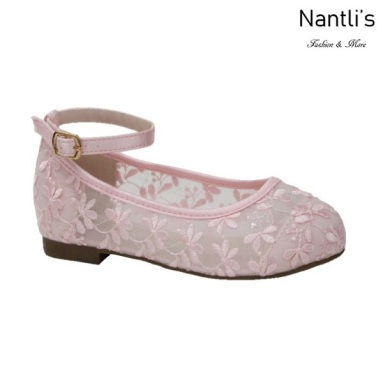 BL-T-Harper-78 Pink Zapatos de niña Mayoreo Wholesale girls flats toddler dress Shoes Nantlis