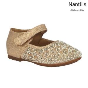 BL-T-Helen-3 Nude Zapatos de niña Mayoreo Wholesale girls flats toddler dress Shoes Nantlis