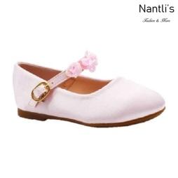 BL-T-Helen-8 Pink Zapatos de niña Mayoreo Wholesale girls flats toddler dress Shoes Nantlis