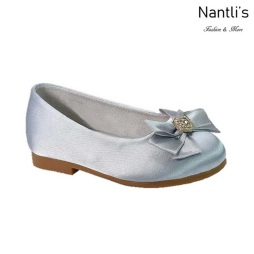BL-T-Lili-9 Light Blue Zapatos de niña Mayoreo Wholesale girls flats toddler dress Shoes Nantlis