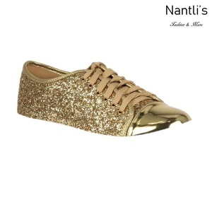 BL-Tennis-6 Gold Zapatos de Mujer Mayoreo Wholesale Women sneakers Shoes Nantlis