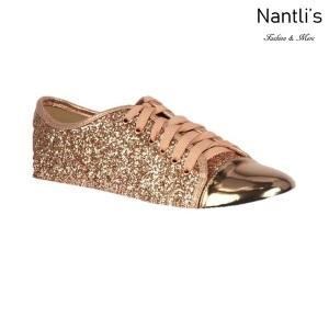 BL-Tennis-6 Rose Gold Zapatos de Mujer Mayoreo Wholesale Women sneakers Shoes Nantlis