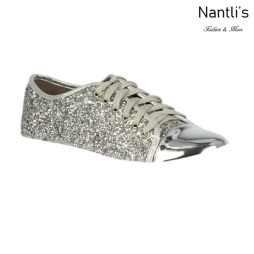 BL-Tennis-6 Silver Zapatos de Mujer Mayoreo Wholesale Women sneakers Shoes Nantlis