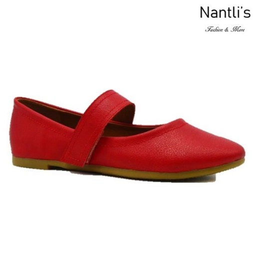 BL-Terra-1 Red Zapatos de Mujer Mayoreo Wholesale Women flats Shoes Nantlis