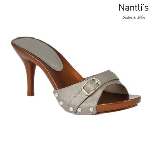 BL-Vote-69 Pewter Zapatos de Mujer Mayoreo Wholesale Women Heels Shoes Nantlis