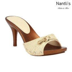 BL-Vote-70 Beige Zapatos de Mujer Mayoreo Wholesale Women Heels Shoes Nantlis