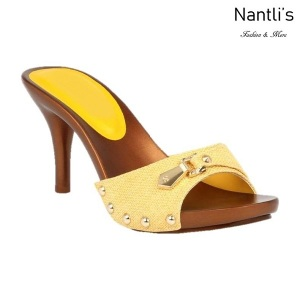 BL-Vote-70 Yellow Zapatos de Mujer Mayoreo Wholesale Women Heels Shoes Nantlis