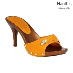 BL-Vote-73 Mustard Zapatos de Mujer Mayoreo Wholesale Women Heels Shoes Nantlis