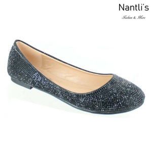 MC-Merina-21 Black Zapatos de Mujer Mayoreo Wholesale Women flats Shoes Nantlis
